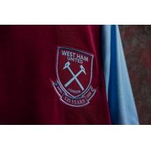 Домашняя игровая футболка Вест Хэм 2020-2021 герб клуба