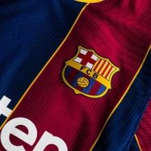 Домашняя аутентичная футболка Барселоны 2020-2021