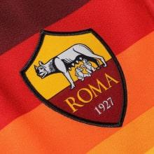 Домашняя игровая футболка Ромы 2020-2021 герб клуба
