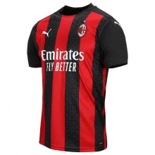 Домашняя футболка Милана 2020-2021 Златан Ибрагимович сбоку