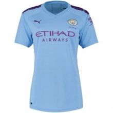 Женская домашняя футболка Манчестер Сити 2019-2020