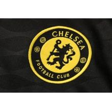 Черный тренировочный костюм Челси 2021-2022 герб клуба