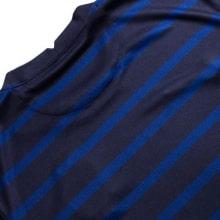 Домашняя футболка Франции ЕВРО 20-21 длинные рукава сзади