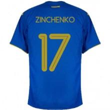 Гостевая футболка Украины Зинченко на ЕВРО 2020-21
