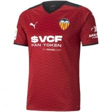 Гостевая игровая футболка Валенсия 2021-2022