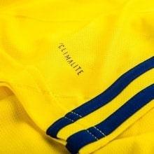 Желтая футболка сборной Швеции на чемпионат мира 2018