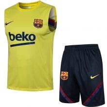 Желто-синяя тренировочная форма Барселоны 2021-2022