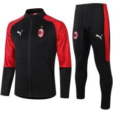 Красно-черный костюм Милан 2021-2022