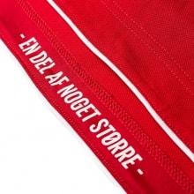Домашняя футболка сборной Дании на чемпионат мира футболка вблизи
