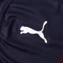 Взрослая гостевая футбольная форма Арсенал 2018-2019 лого производителя