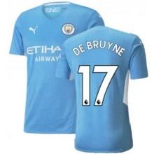 Домашняя футболка Манчестер Сити 21-22 Де Брёйне