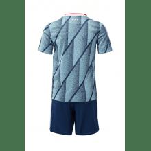 Комплект взрослой гостевой формы АЯКС 2020-2021 футболка сзади