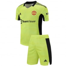 Желтая вратарская форма Манчестер Юнайтед 21-22
