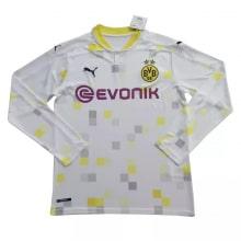 Домашняя игровая футболка Лион 2018-2019 воротник