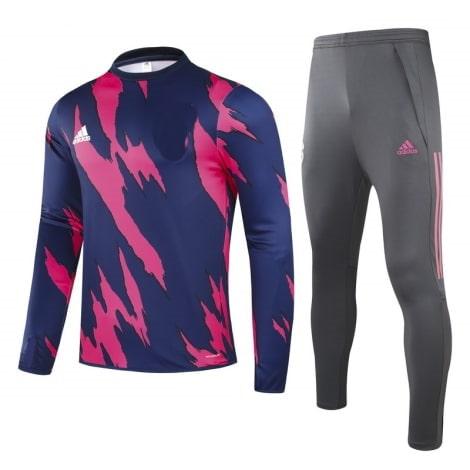 Сине-розовый костюм Реал Мадрид 2021-2022