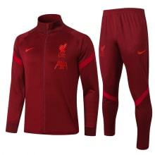 Бордовый спортивный костюм Ливерпуля 2021-2022