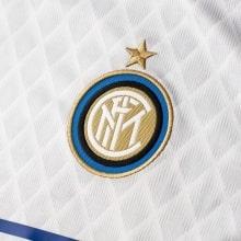 Детская гостевая футболка  Интера 2018-2019 герб клуба