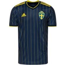 Гостевая футболка Швеции на Чемпионат Европы 2020-21