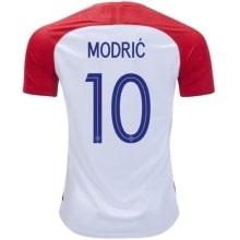 Домашняя футболка Хорватии Лука Модрич номер 10 ЧМ 2018