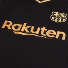 Гостевая футболка Барселоны 2020-2021 Антуан Гризманн титульный спонсор