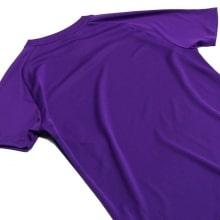 Фиолетовая тренировочная футболка Ливерпуля 2018-2019 сзади