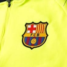 Взрослый сине-желтый костюм Барселоны 18-19 герб клуба