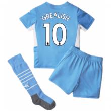 Детская домашняя футбольная форма Джек Грилиш 21-22