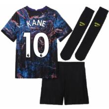 Детская гостевая футбольная форма Гарри Кейн 2021-2022