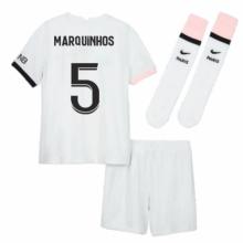 Детская гостевая футбольная форма Маркиньос 2021-2022