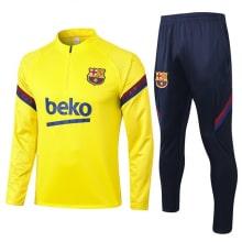 Желто-синий костюм Барселоны 2020-2021
