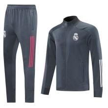 Серо-бело-розовый костюм Реал Мадрид 2020-2021