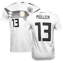 Футболка сборной Германии на ЧМ 2018 Томас Мюллер номер 13