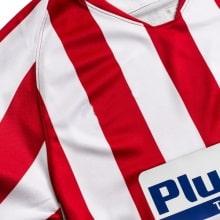 Детский комплект домашней формы Атлетико 2019-2020 футболка бренд