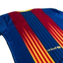 Четвертая игровая футболка Барселоны 2020-2021 сзади