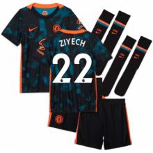 Детская третья форма Челси Хаким Зиеш 2021-2022