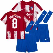 Детская домашняя форма Атлетико Гризманн 2021-2022