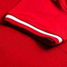 Гостевой комплект детской формы Польши на ЕВРО 2020-21 футболка рукав Левандовски