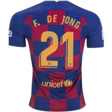Домашняя футболка Барселоны 2019-2020 Фрэнки Де Йонг