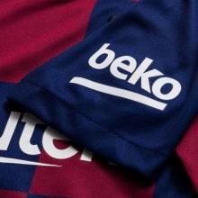 Женская домашняя футболка Барселоны 2019-2020 рукав
