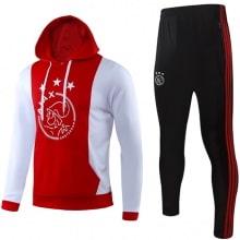 Взрослый красно-бело-черный тренировочный костюм АЯКС 2019-2020