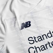 Взрослая гостевая форма Ливерпуля 19-20 c длинными рукавами футболка бренд