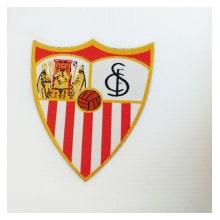 Комплект взрослой домашней формы Севильи 2019-2020 футболка герб клуба