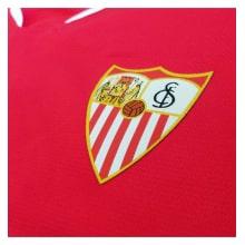 Гостевая игровая футболка Севилья 2019-2020 герб клуба