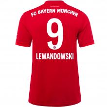 Домашняя футболка Баварии 2019-2020 Роберт Левандовски