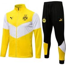Черно-бело-желтый костюм Боруссии Дортмунд 2021-2022