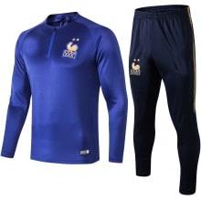 Синий костюм сборной Франции по футболу 2019-2020