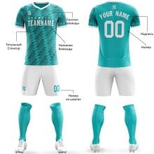 Футбольная форма бело голубого цвета параллелограмм