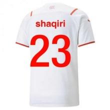 Гостевая футболка сборной Швейцарии на ЕВРО 2020 герб сборной