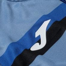 Комплект детской третьей формы Аталанта 2020-2021 футболка логотип
