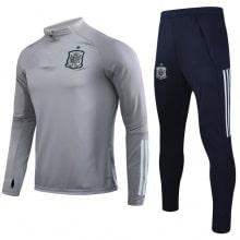 Серо синий костюм сборной Испании по футболу 2020-2021
